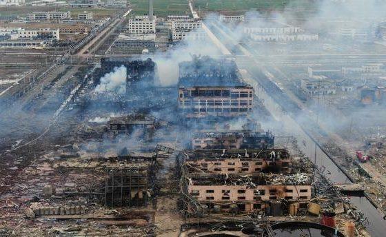 Les catastrophes chimiques : domaine du NRBCe