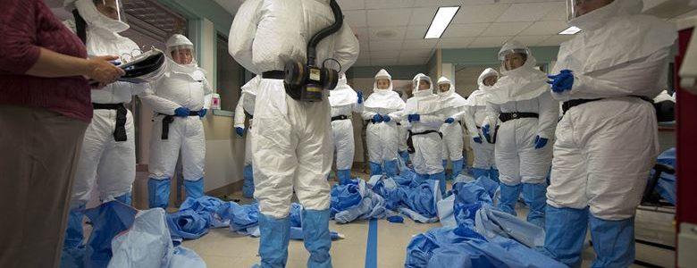 Les EPI au cours des épidémies d'Ebola