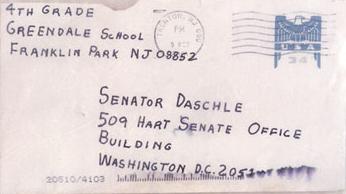 Les lettres piégées d'octobre 2001