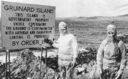 La décontamination de l'ile de Gruinard