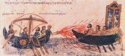 Histoire du NRBCe : les feux grégeois