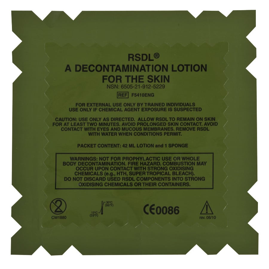RSDL® Reactive Skin Decontamination Lotion