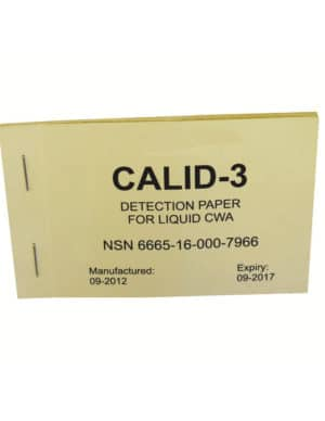 Papier detecteur CALID