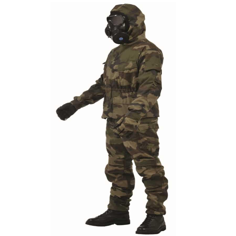 CBRN Combat suit - Ouvry - CBRN Protective System