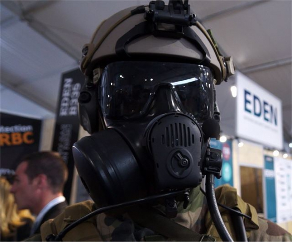 OUVRY NBC CBRN protective equipment SOFINS 2015 Special Forces Operations Innovation_Network_Seminar_Camp_Souge_Bordeaux_France_001