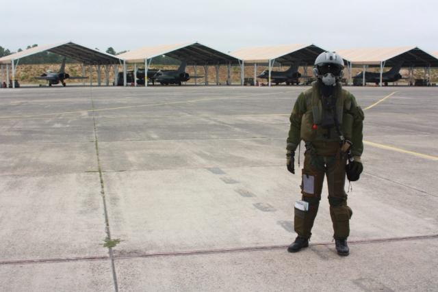 Ouvry NRBC Pilote de chasse