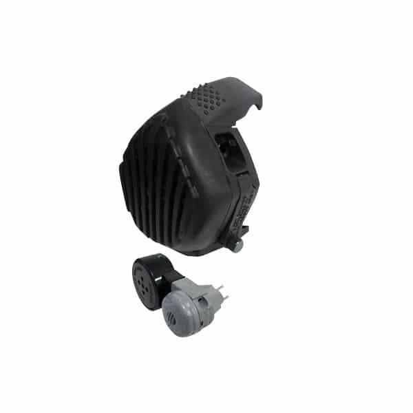 VPU : Voice Projection Unit : voice amplifier + microphone