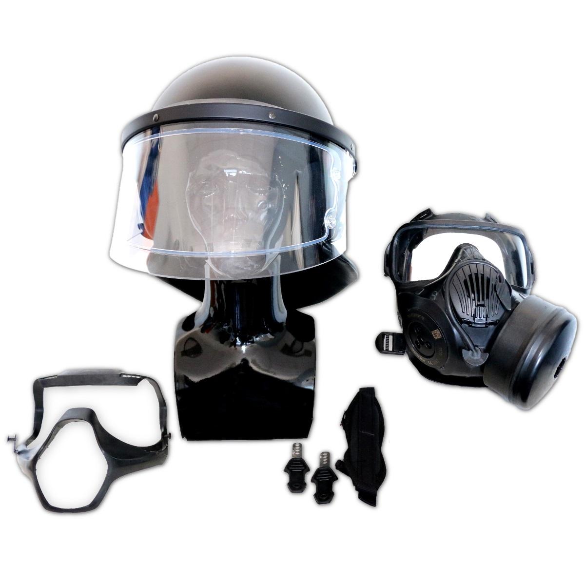 Helmet interface for law enforcement
