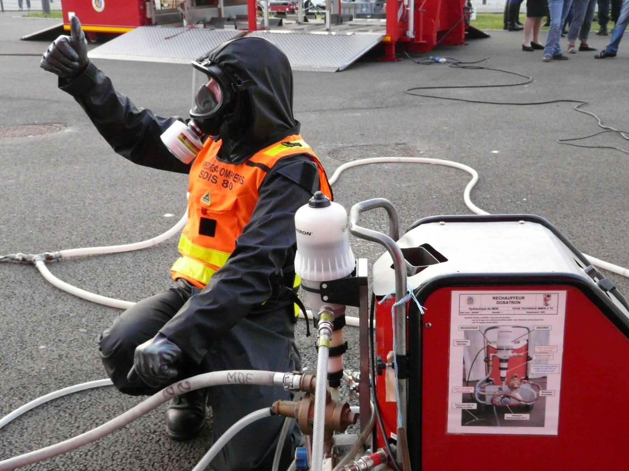 Polycombi® NRBC_Sapeur Pompier_Primo intervenant