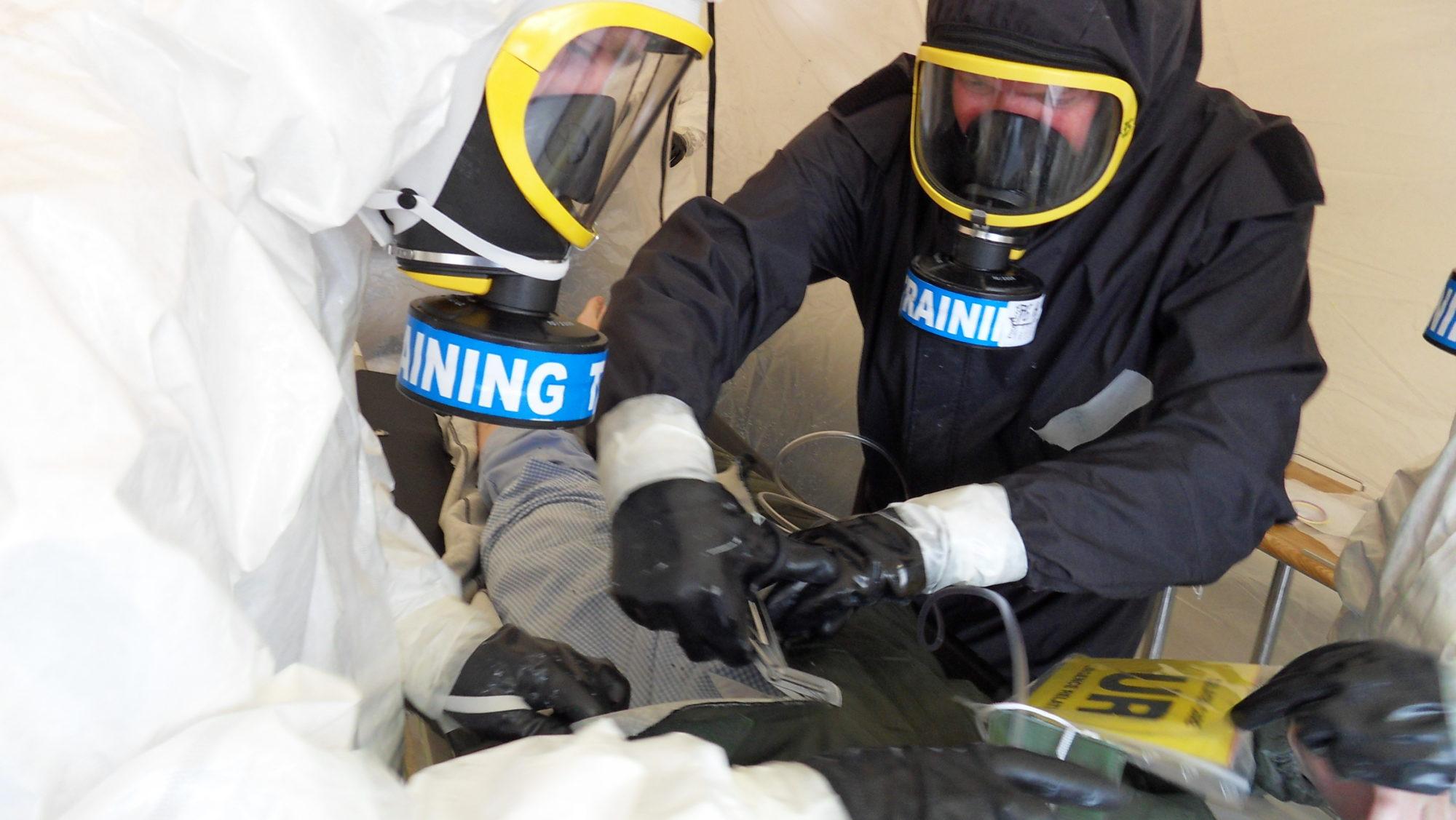 Polycombi® chaîne de décontamination