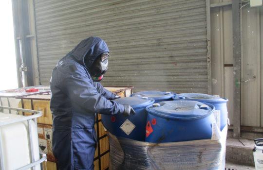 A forgotten combat gas? Chlorine gas