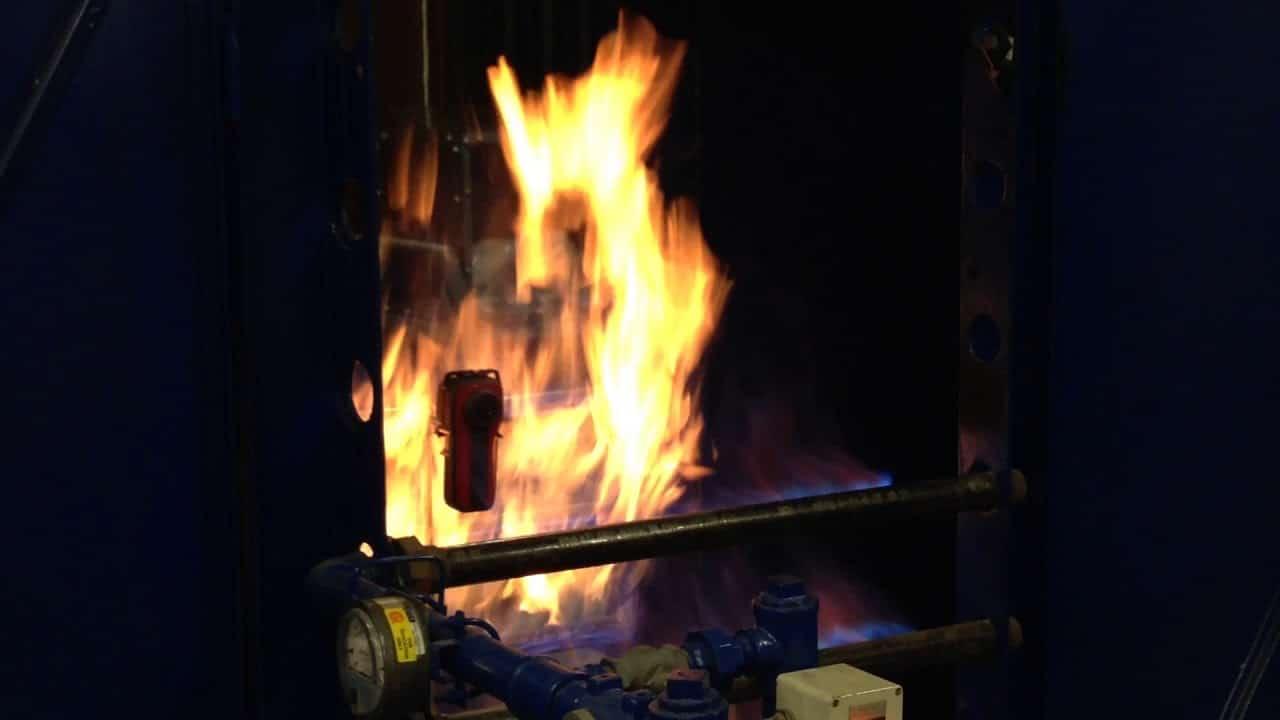 Résistance à la flamme de la caméra thermique ARGUS