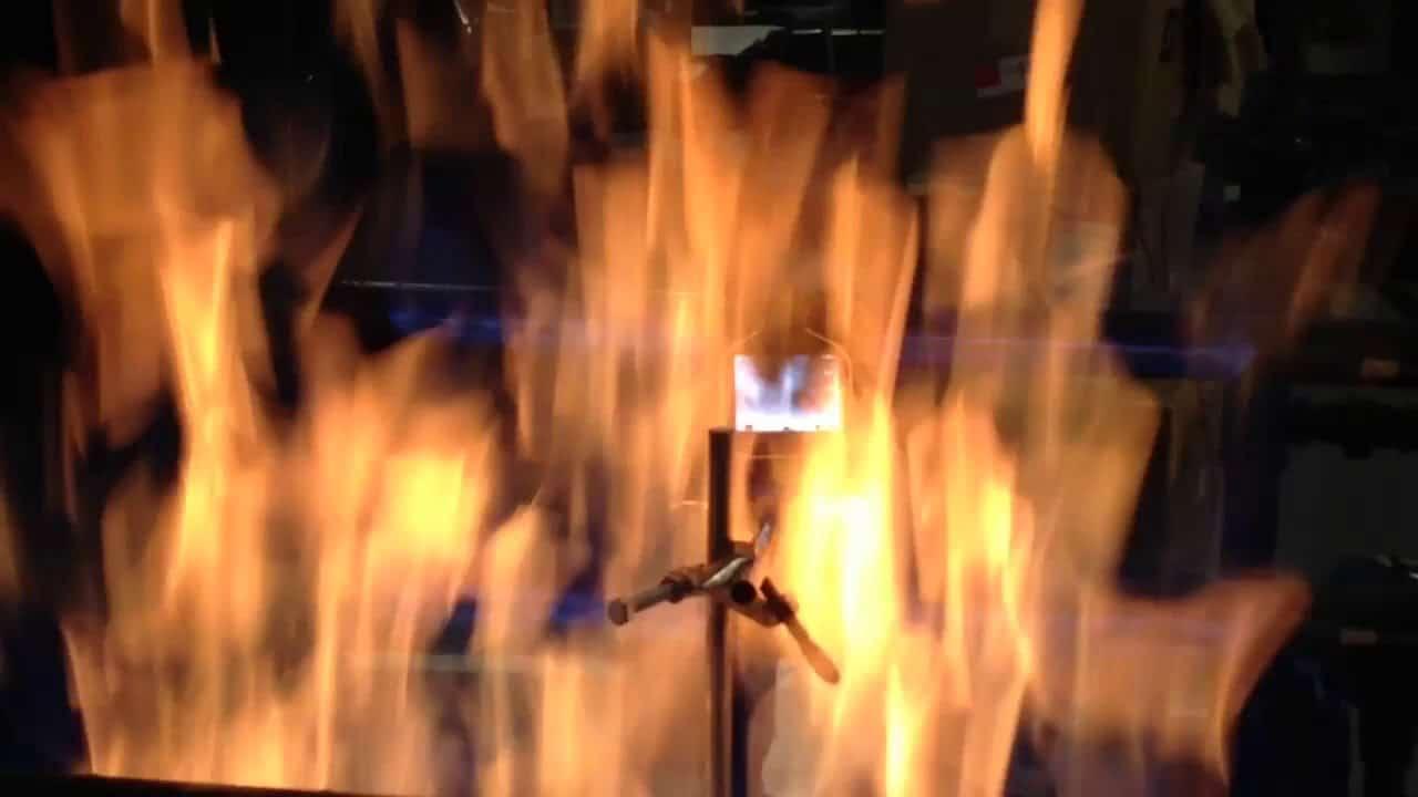 Résistance à la flamme de la caméra thermique ARGUS - 2