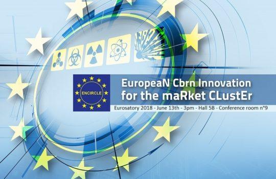 Conférence ENCIRCLE durant Eurosatory 2018