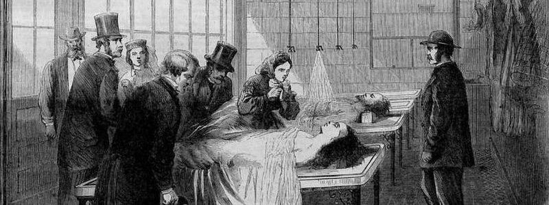 La manipulation des cadavres