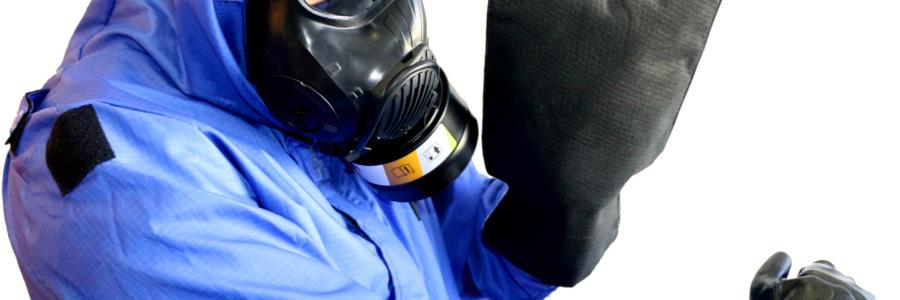 The Decpol® mitt has been tested in the laboratory on real chemicals