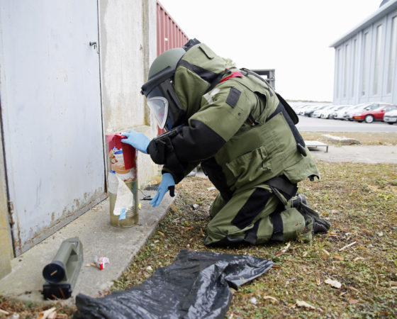The explosive risk: CBRNe or CBRNE?