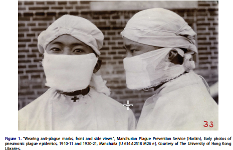 Plague masks: visual emergence of personal anti-epidemic protective equipment