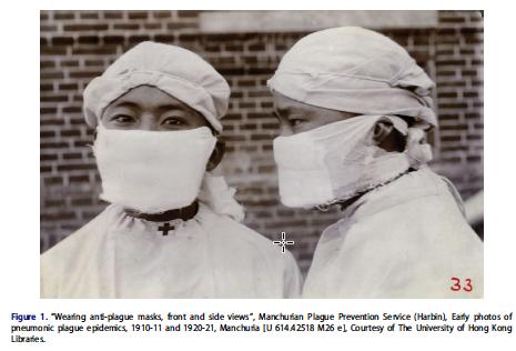 Les masques antipeste : émergence visuelle des équipements de protection individuels anti-épidémies