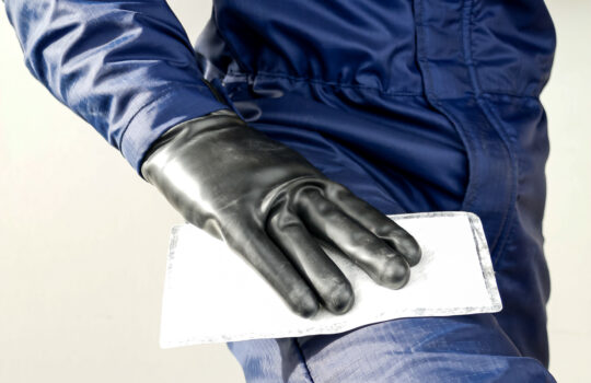 How to decontaminate in case of chemical contact?