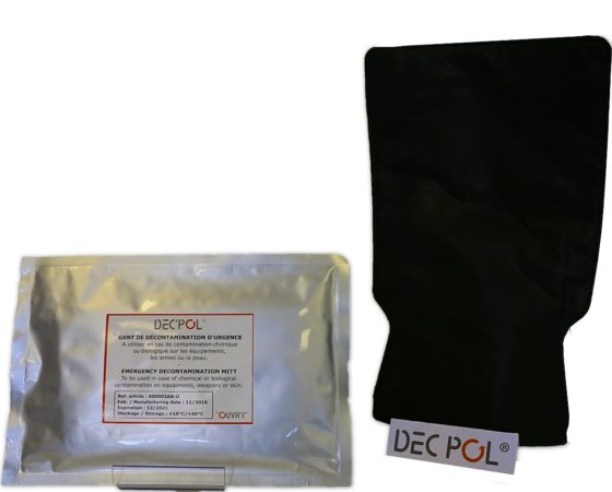 New decontamination protocols in response to a CBRN attack