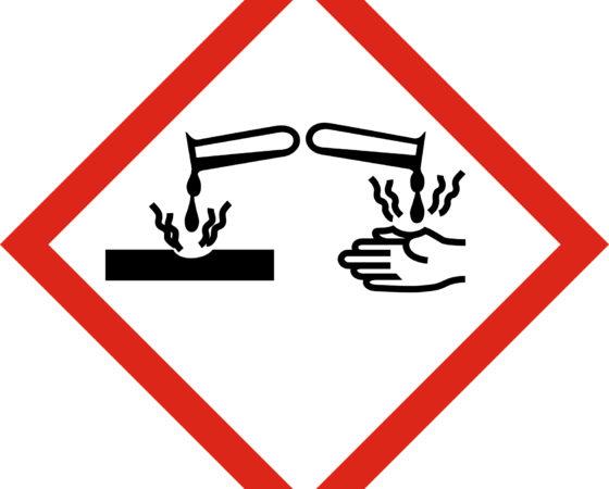 Les brûlures chimiques