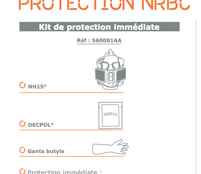 How to protect yourself in the case of chemical events of terrorist or accidental origin?