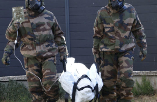 One bag may hide another: the evacuation bag, the CBRN patient transport stretcher, the CBRN body bag.