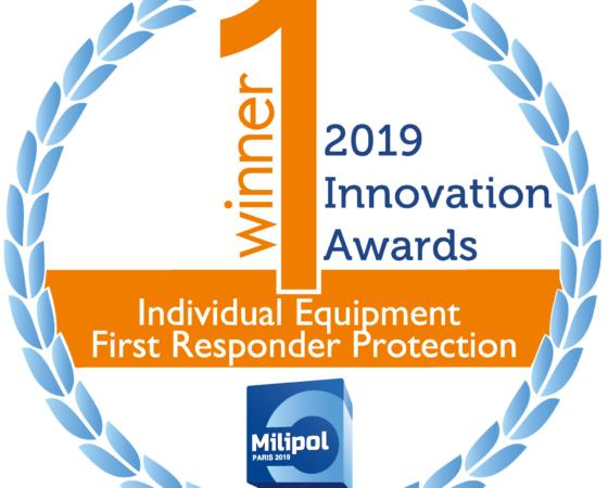 Milipol 2019: Ouvry laureate of the Milipol Innovation Award in the category « Protection for first-responders""