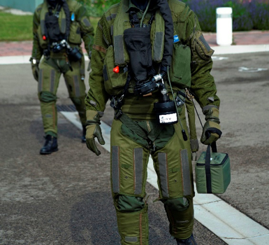 Thermophysiological tolerance of CBRN underwear