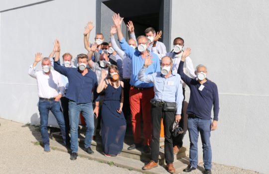 Journée de rencontre des distributeurs du masque OCOV®